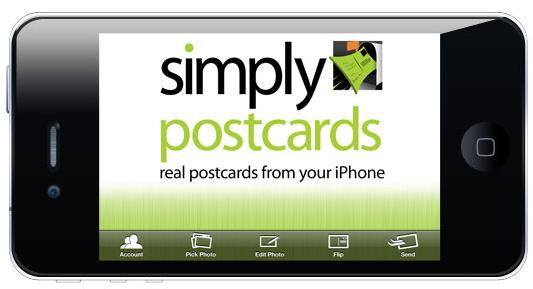 simply postcards