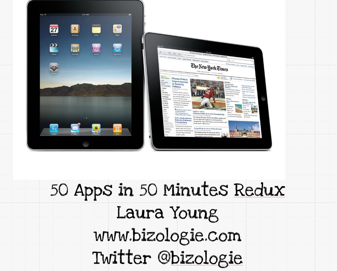 50 apps redux