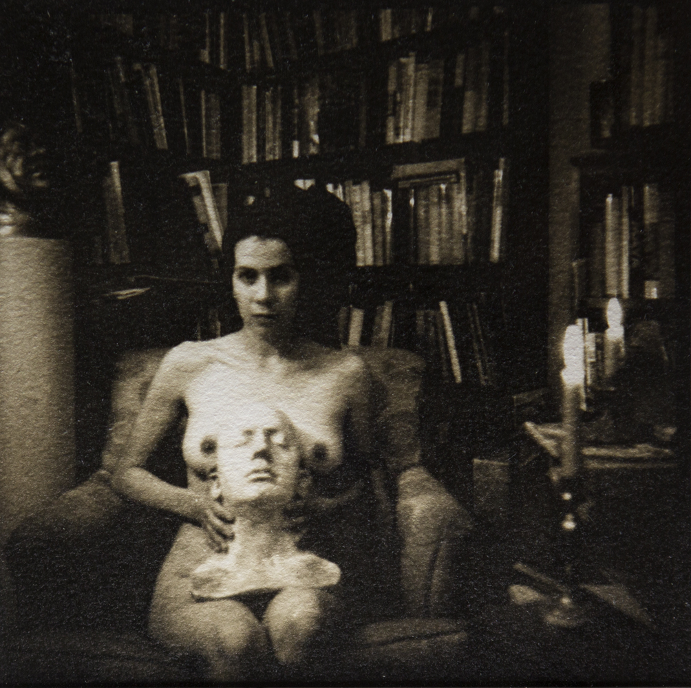 Gertrude in the Study