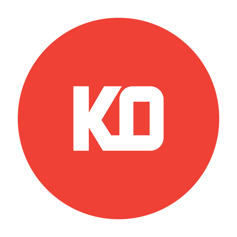 In 2017 we partnered with Offworld Arcade and the Heavenly Dogs to co-open KO Studio Gallery in Hamtramck, MI. I made the logo.
