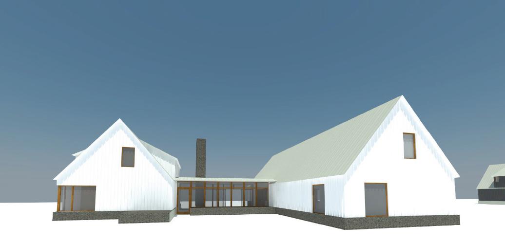 Exterior Finishes Study - Jackson Hole Residence