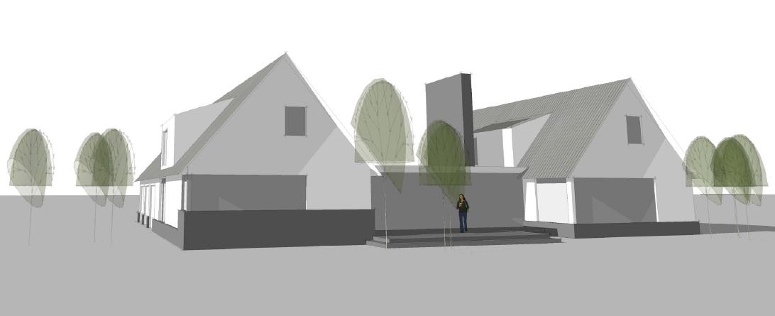 Process Massing Study - Jackson Hole Residence