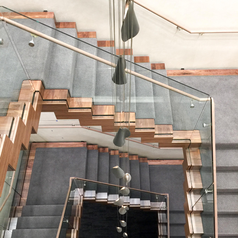 Corporate Staircase - Minneapolis, Minnesota