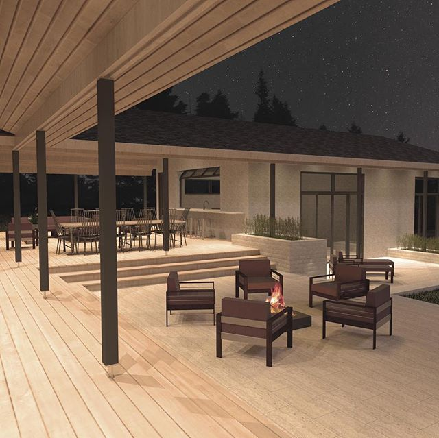 Excited to be working with @streeterhomes on a new renovation #architecturemn #outdoorliving
