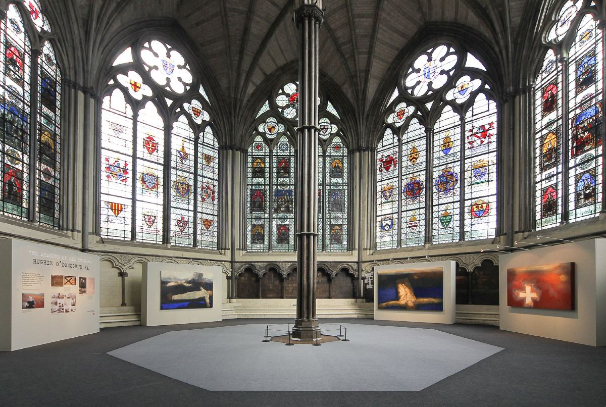 Hughie O'Donoghue Chapter House, Westminster Abbey 2014
