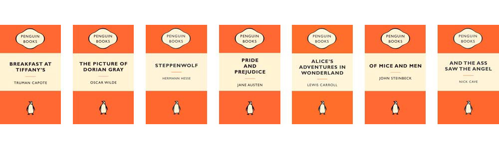 Jan Tschichold's designs for Penguin Classics