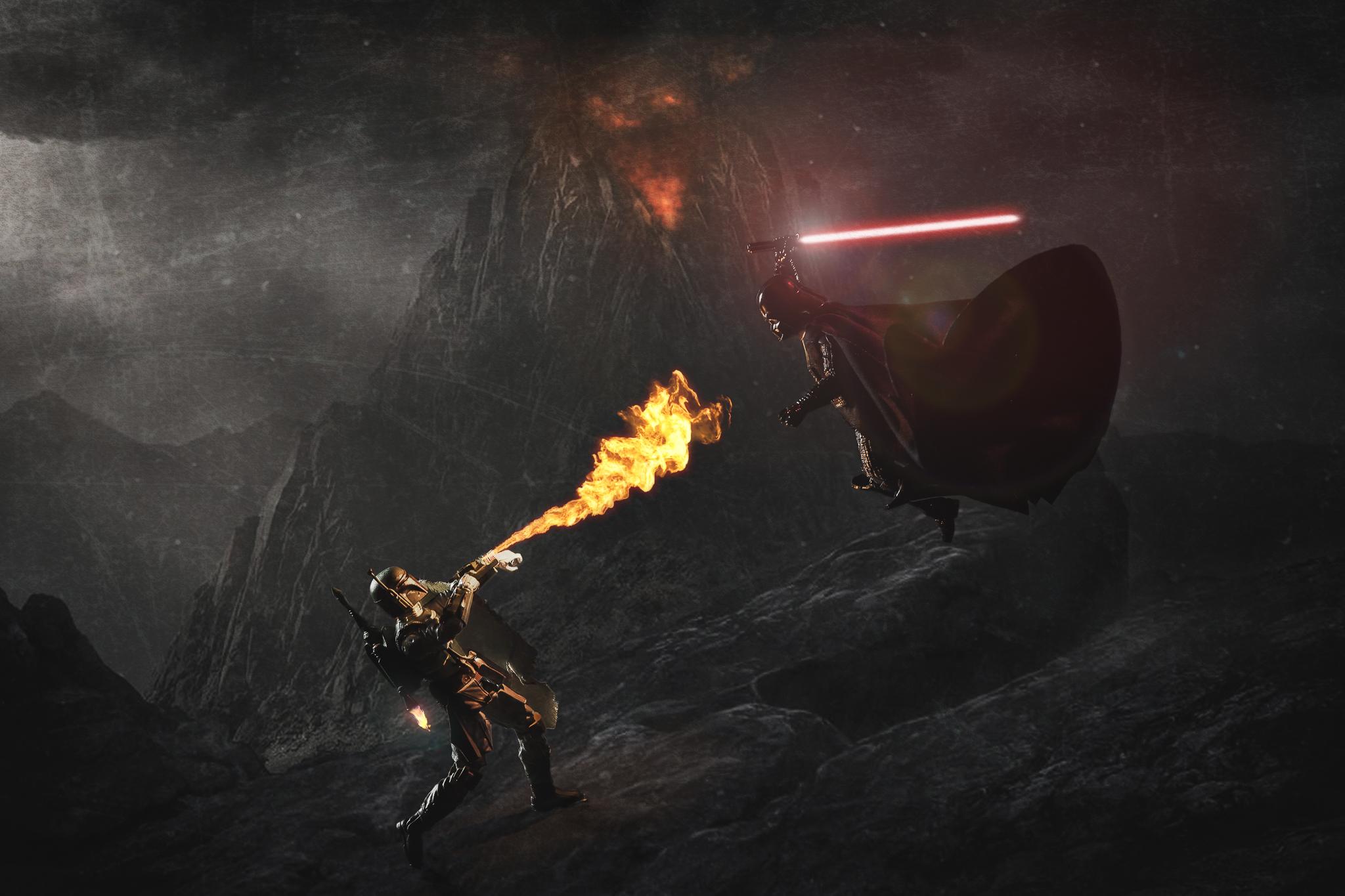 Fett vs Vader