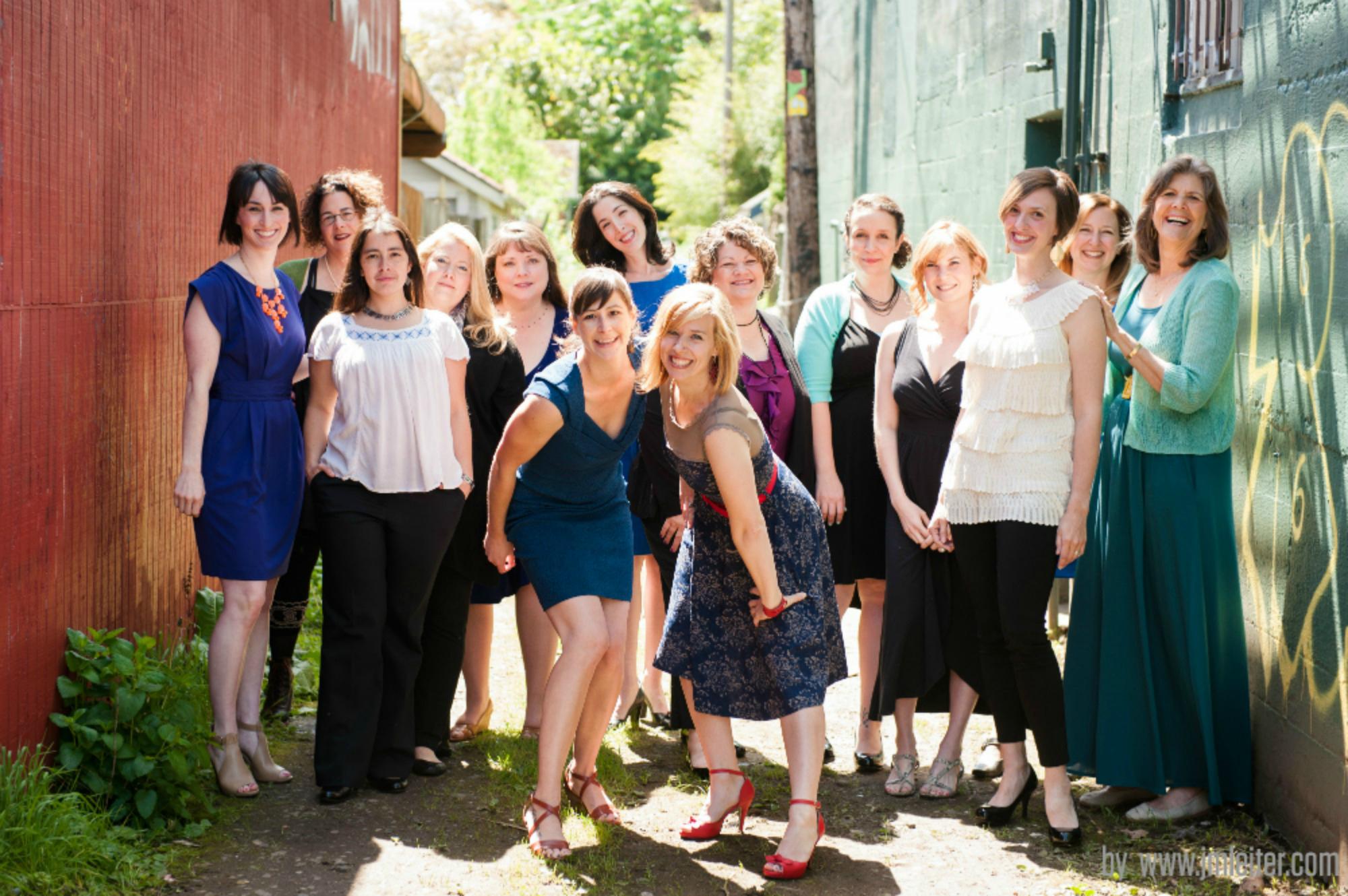 The cast of LTYM: Portland 2014.