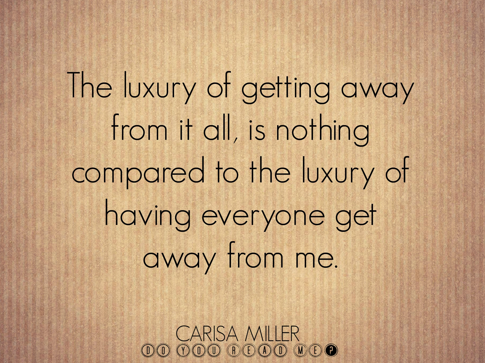 Family Goaway by Carisa Miller