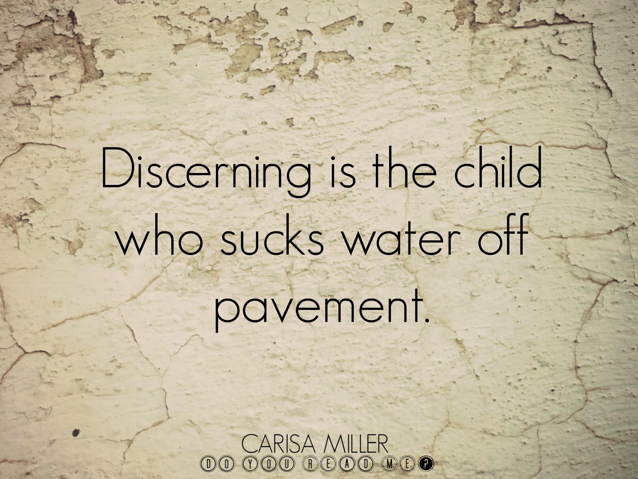 Slurping Pavement by Carisa Miller