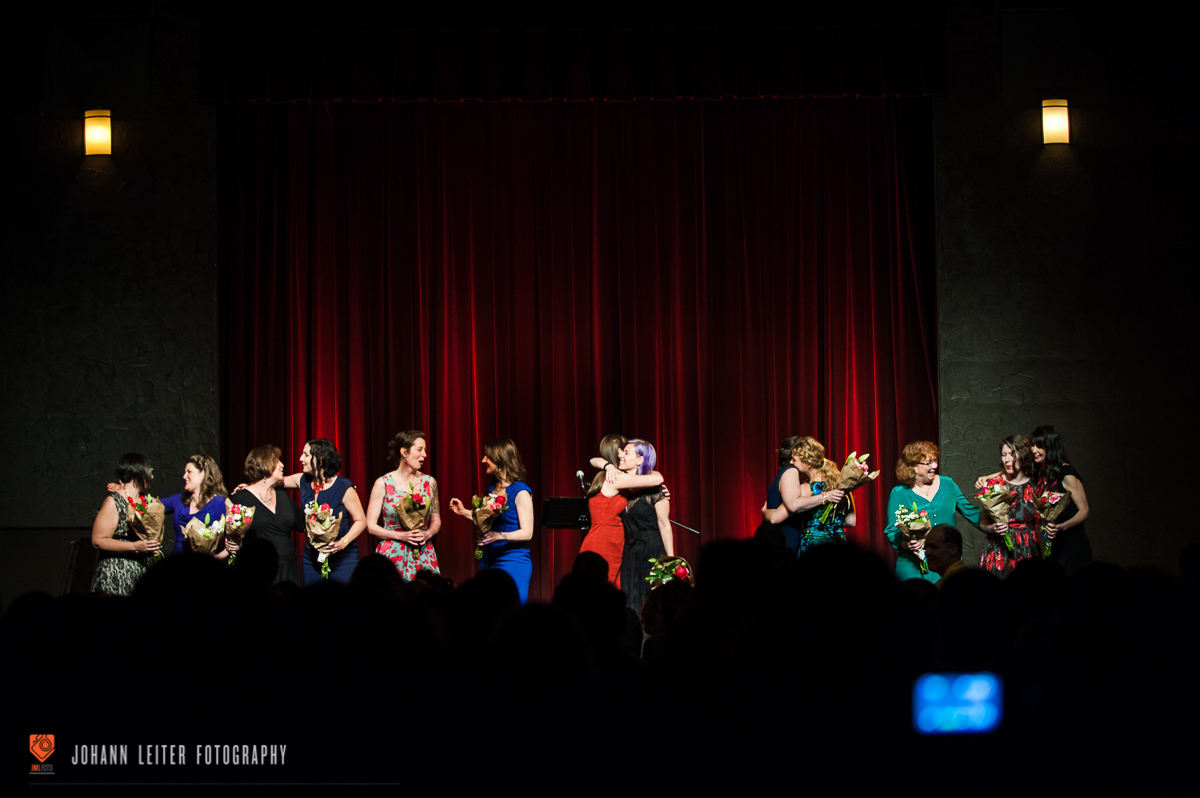 Cast love amidst final applause. Photo by Johann Leiter  JML Foto creative
