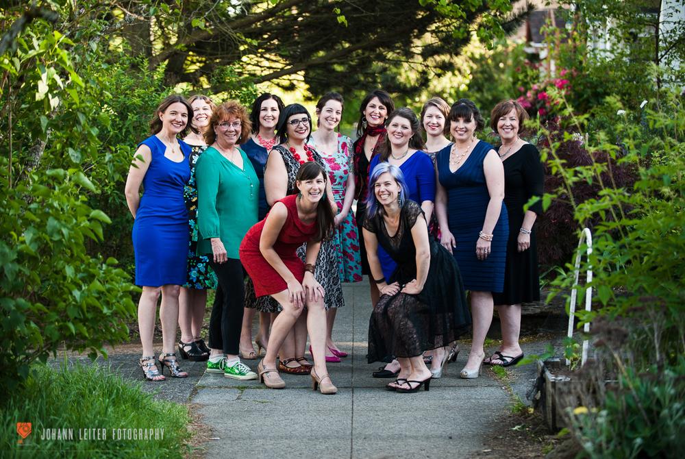 The cast of ltym:Portland 2015