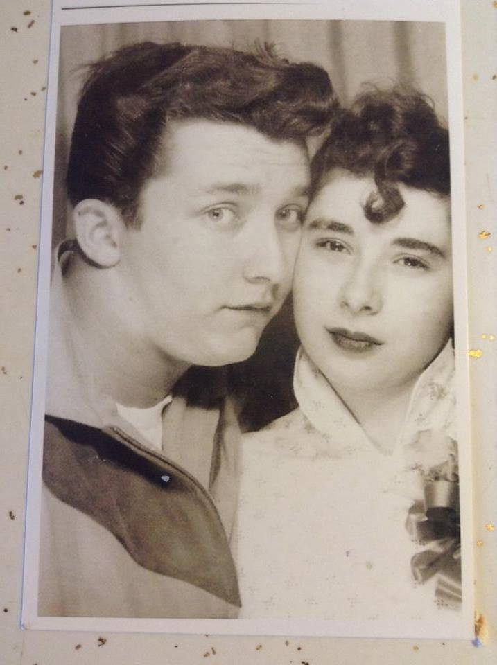 Lila and Jerry in 1952