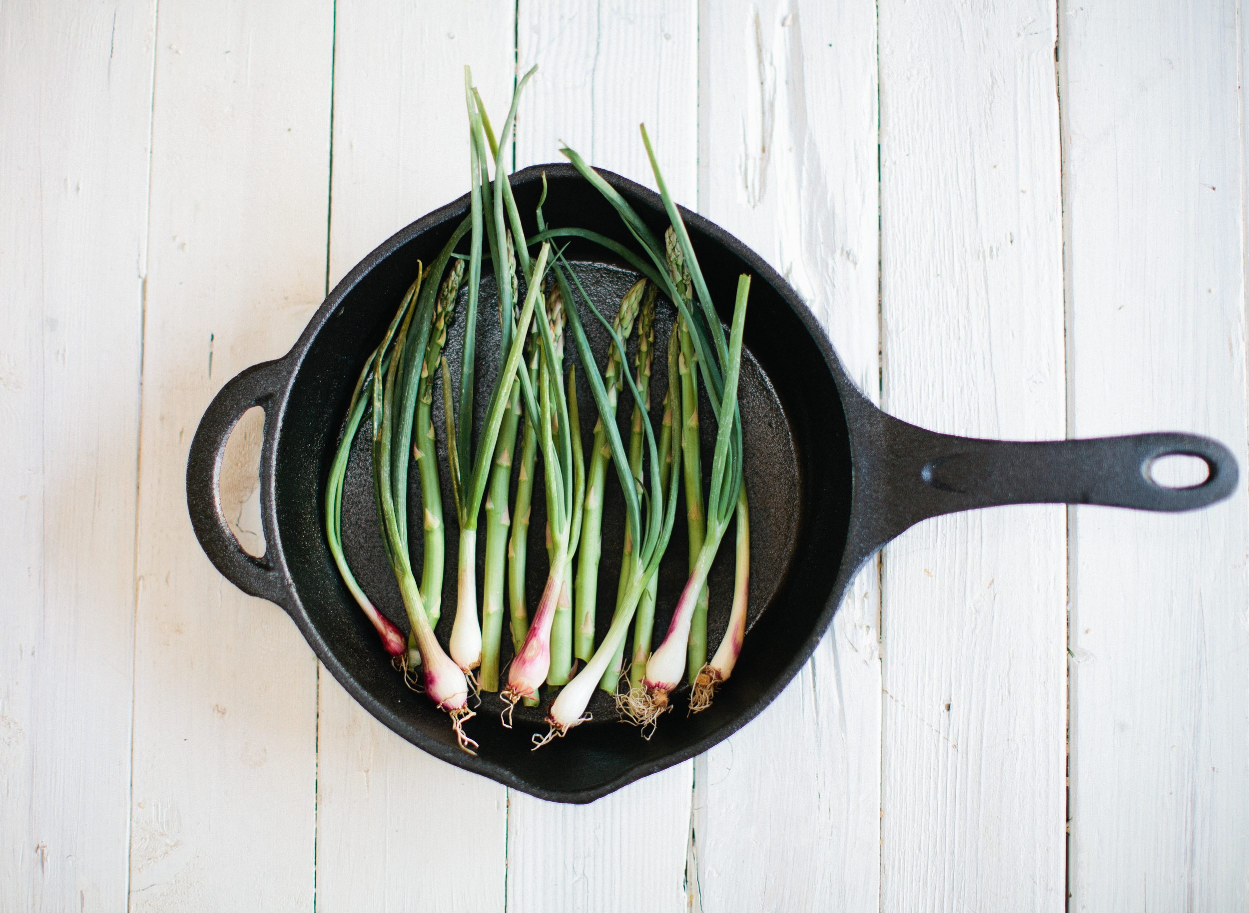 Running With Forks Green Onions