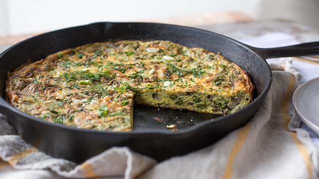 Running With Forks Frittata