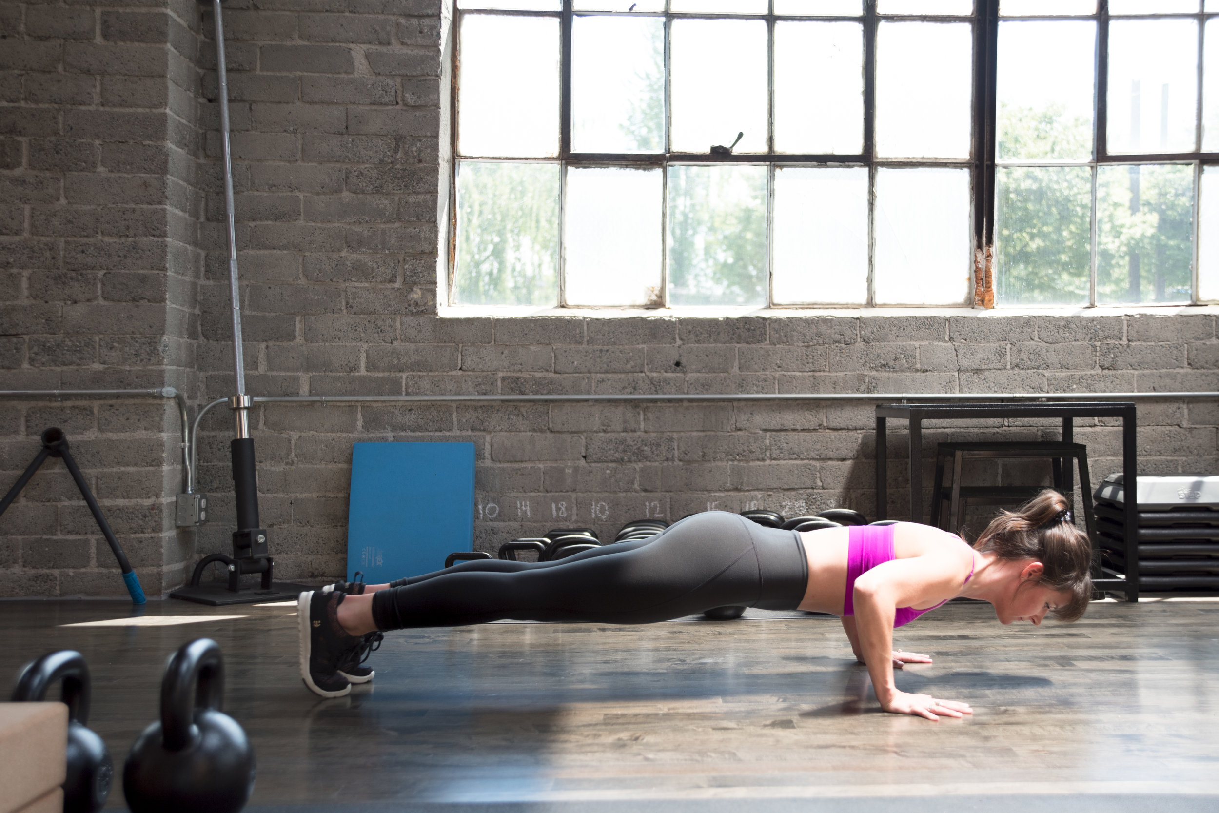 Running With Forks Pushup Perfection