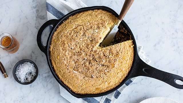 Running With Forks and Barre3 Skillet Cornbread