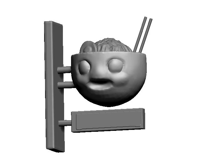 Ramen Bowl Mascot