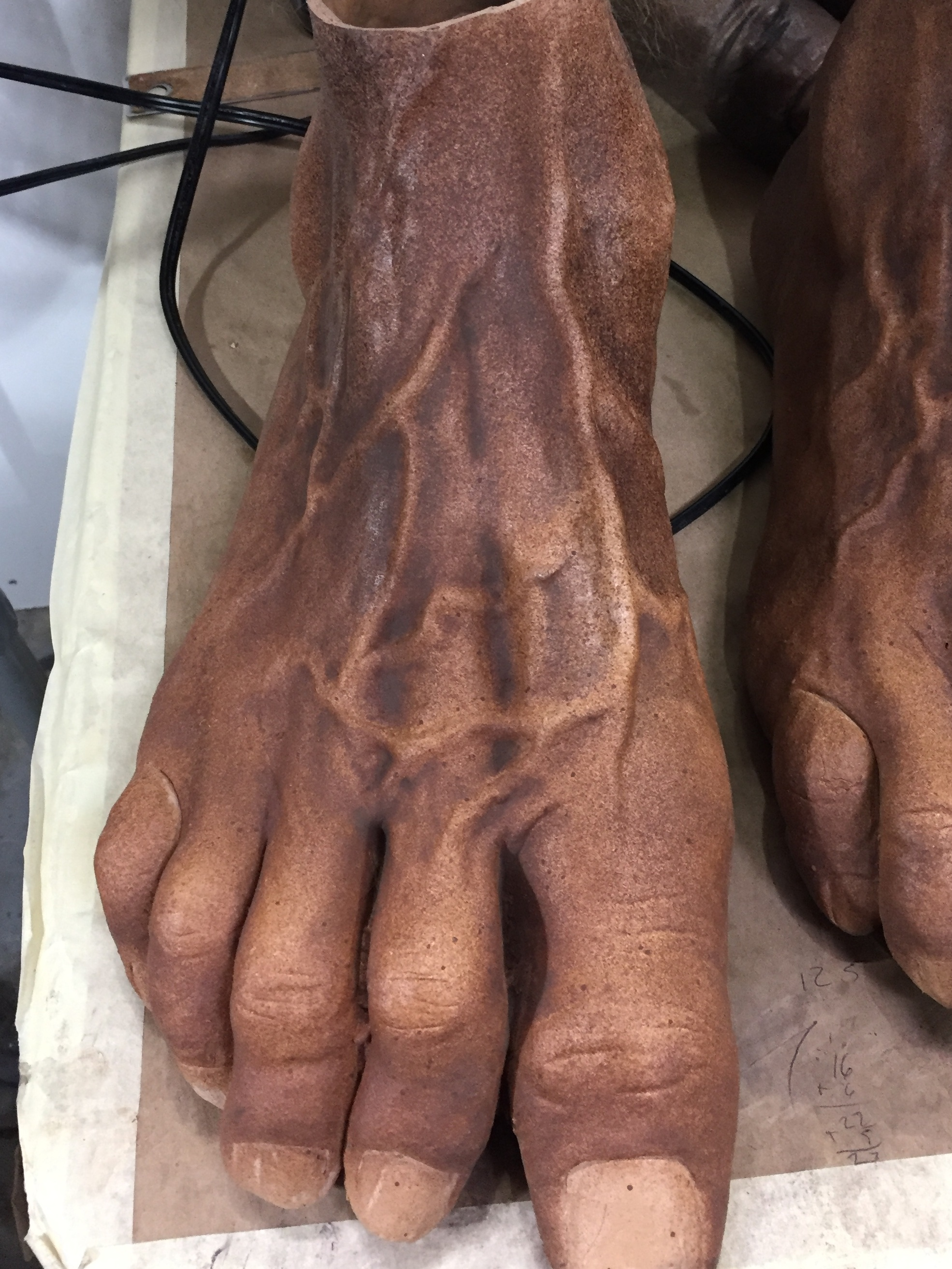 Jack Links feet (After matte sealer)