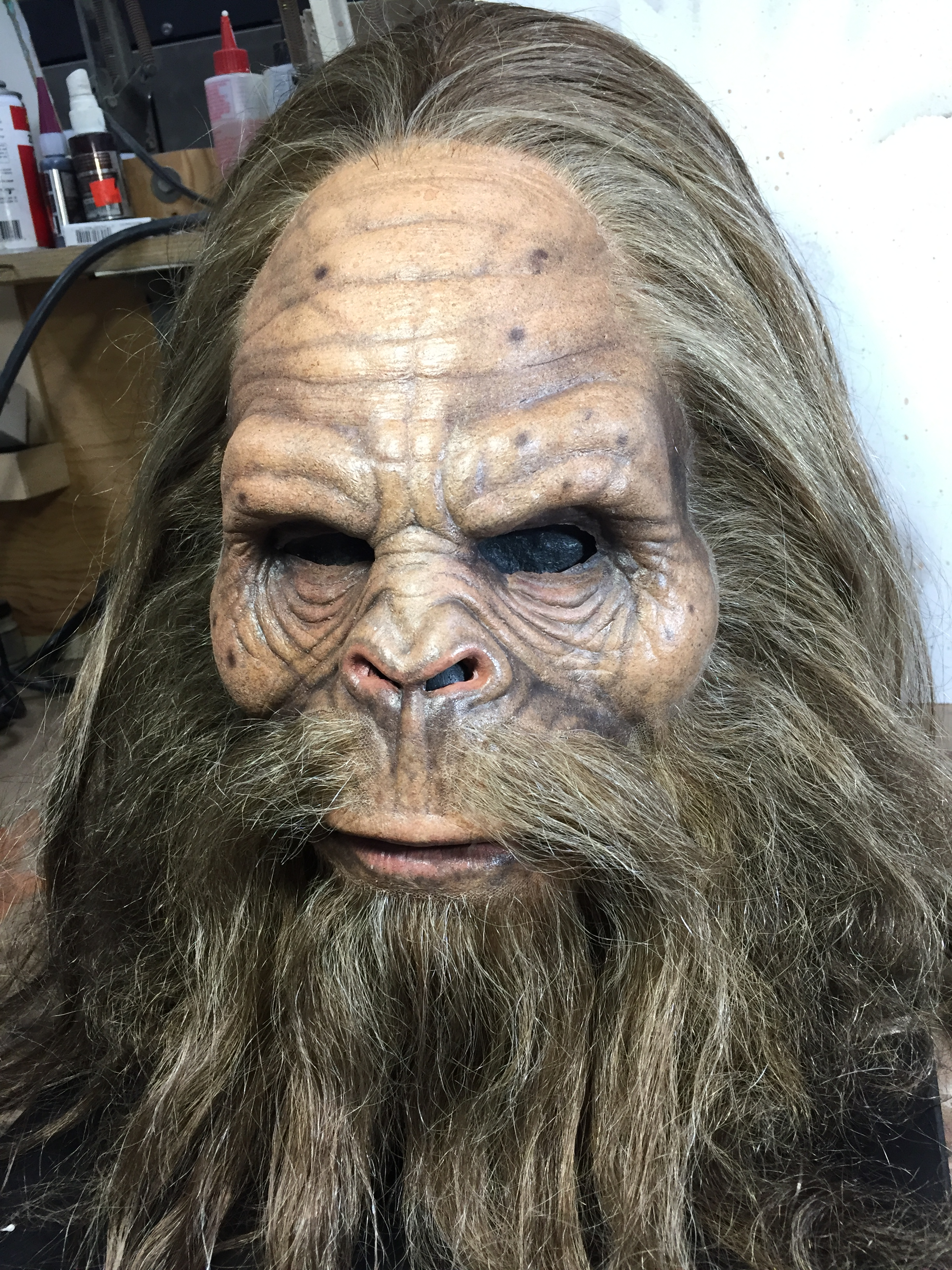 Painted JackLinks Bigfoot done for Legacy FX Hair by Connie Criswell