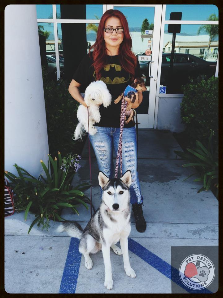 Mia's Adoption Photo
