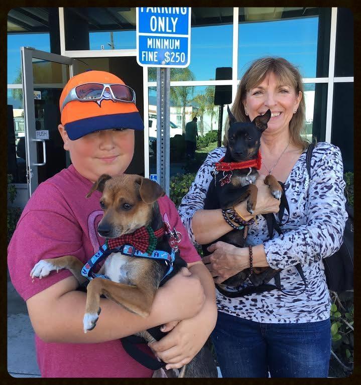 Skye and Rosie Adoption Photo