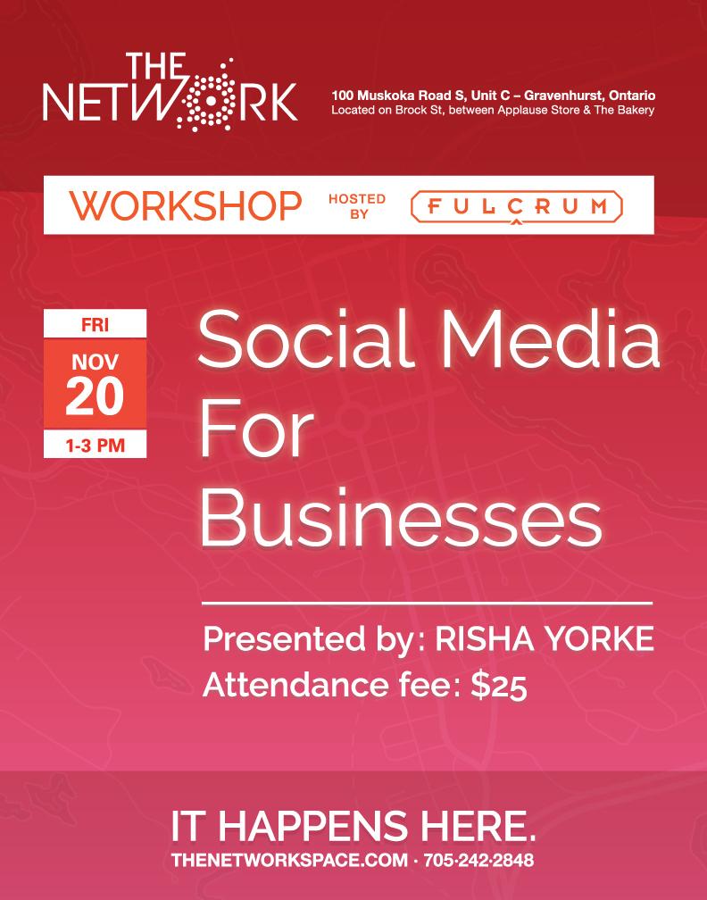 Workshop cover image: Social media for businesses