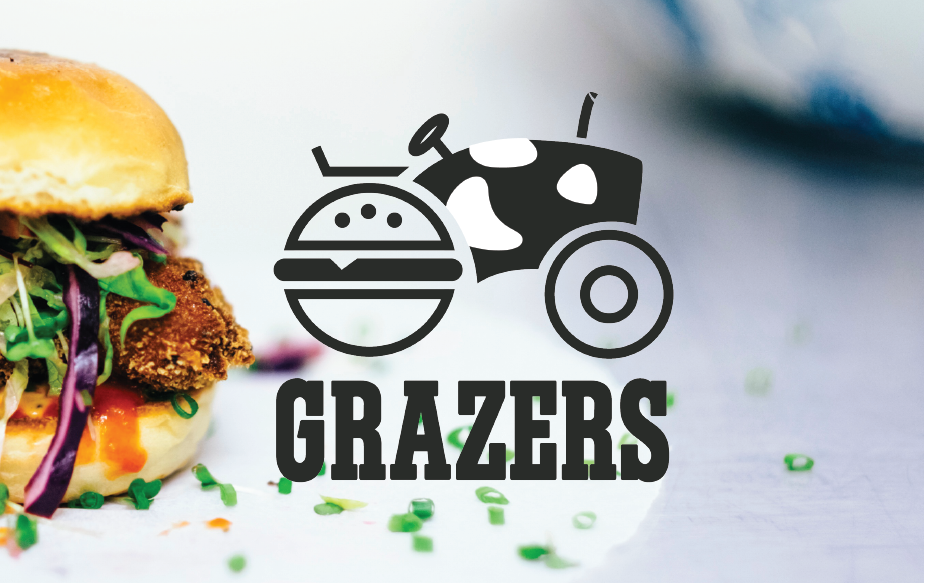 GRAZERS RESTAURANT |  Logo Design & Instagram Growth