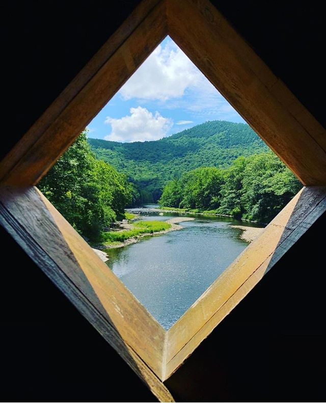 Looking into the past over the West River in southern Vermont you can have the same view the engineers enjoyed in 1870 (though life was just a BIT slower then :) Even so, not many places are as unchanged as the Green Mountain State!⠀ ⠀ Tag a friend who is ready for river fun this summer!⠀ ⠀ Photo by @amaliahhh⠀ ⠀ ⠀ ⠀ ⠀ ⠀ ⠀ PS: Still looking for an edge with your Instagram marketing? We're helping a ton of companies grow their brands via IG. Click the link in our profile for more info.⠀ ⠀ ⠀ ⠀ #travel #nature #photooftheday #bridge #coveredbridge #instagood #architecture #vermont #bridges #summer #vermonting #vermontlife #govermont #like4like #travelvermont #visitvermont #newenglandliving #ilovermont #thisisvt #woodstockvt #eastcoastcreatives⠀ #newengland #newenglandlife ⠀ #burlingtonvt #btv #stowevt #montpeliervt #manchestervt #sovt #brattleborovt