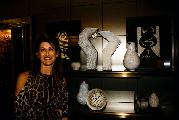 BORN AND RAISED IN JOHANNESBURG, LAUREN WAS EXPOSED FROM A YOUNG AGE TO THE CREATIVITY OF HER GRANDFATHER, WHO PAINTED AND SCULPTED. SHE BEGAN CREATING POTTERY AND CERAMICS MORE THAN 25 YEARS AGO DRAWING HER INSPIRATION FROM THE AFRICAN BUSH AND IT'S WILDLIFE.  EVEN WHEN LIVING IN EUROPE AND THE UNITED STATES, HER AFRICAN ROOTS REMAIN A POWERFUL INFLUENCE IN HER WORK. LAUREN ALSO HOLDS CREATIVE EXPERIENCE IN ARCHITECTURAL, STRUCTURAL AND INTERIOR DESIGN.  A MEMBER OF THE SILVERMINE GUILD ARTS CENTER, LAUREN LIVES BETWEEN WESTPORT, CONNECTICUT AND CAPE TOWN, SOUTH AFRICA.
