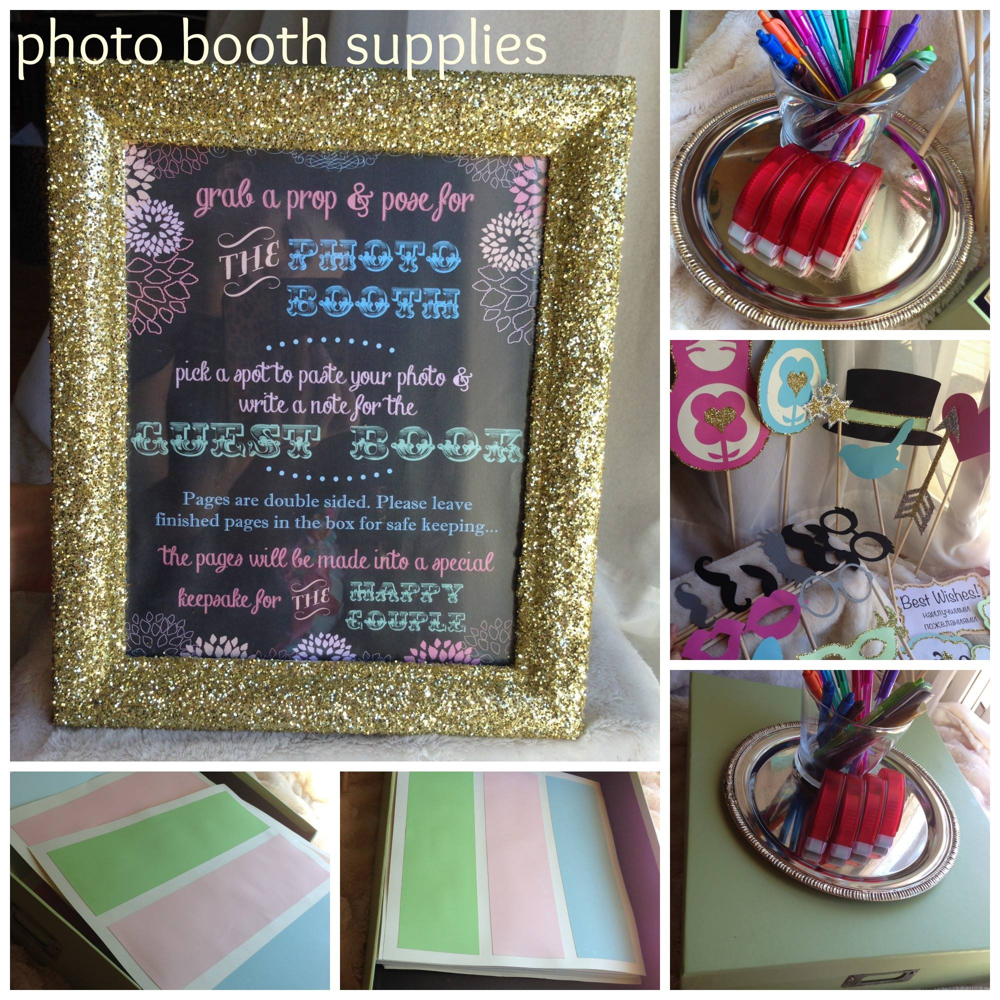Photobooth guestbook kit