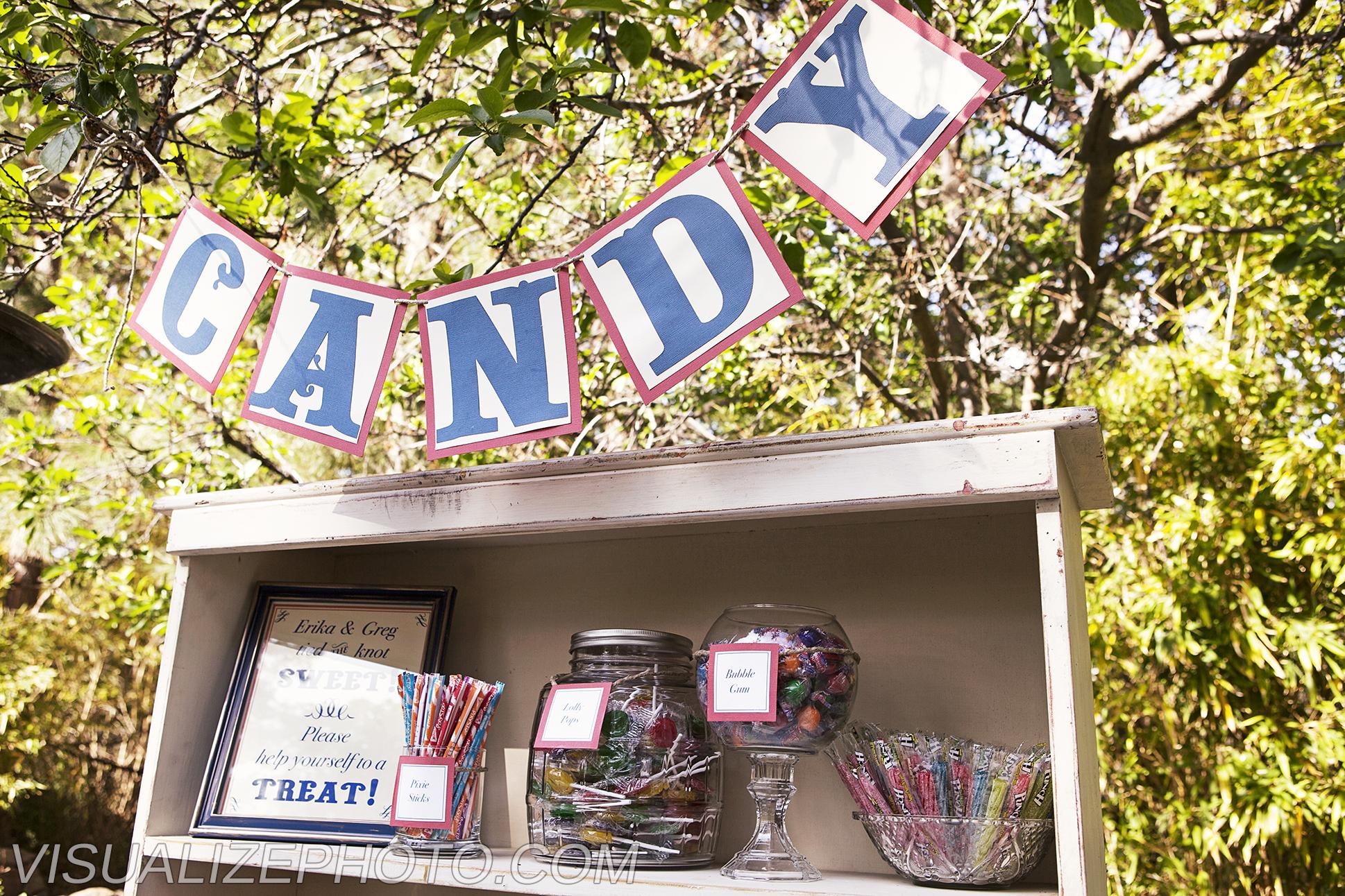 Candy Bar & Basic Banner