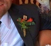 Boutonniere Bling