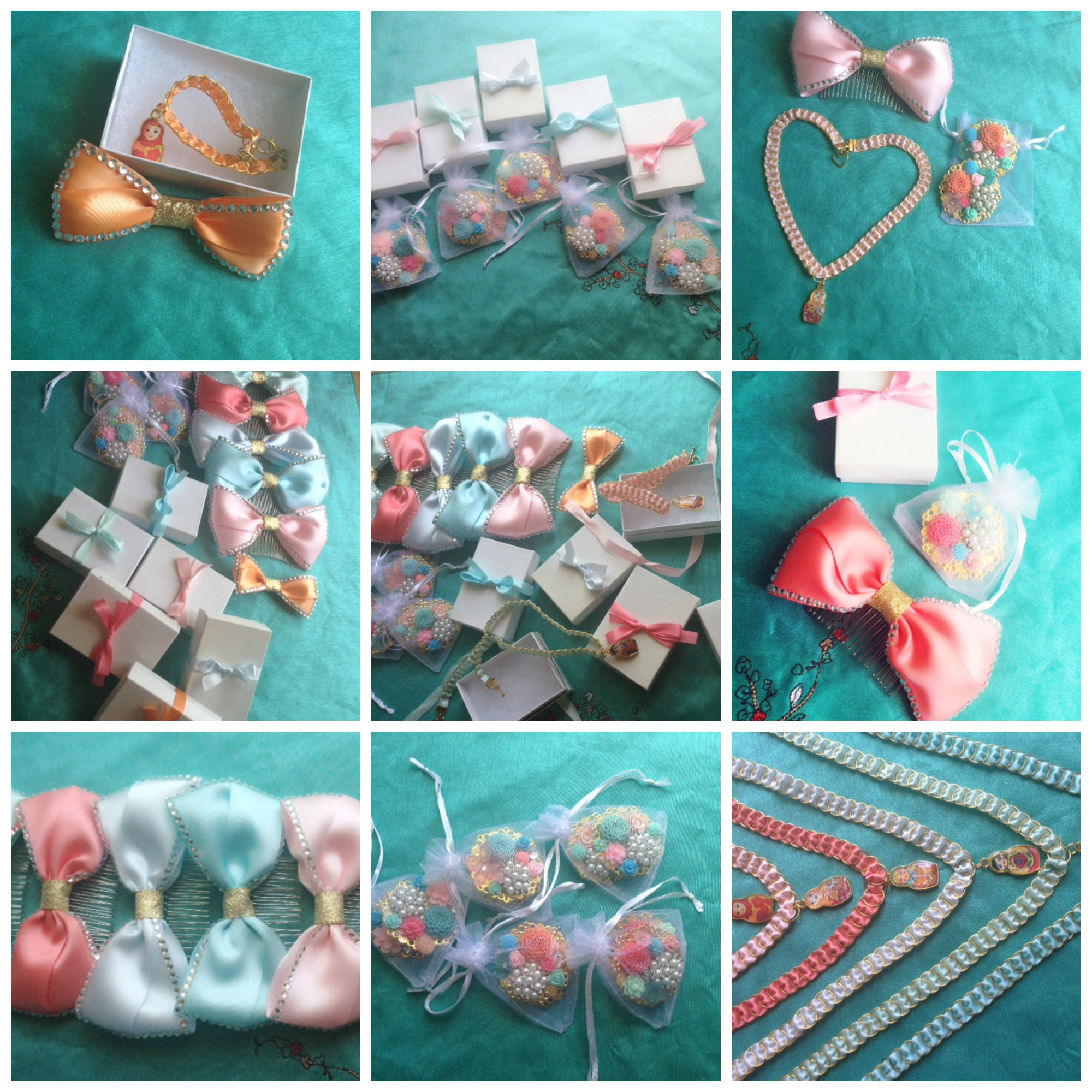 Bridal party accessories