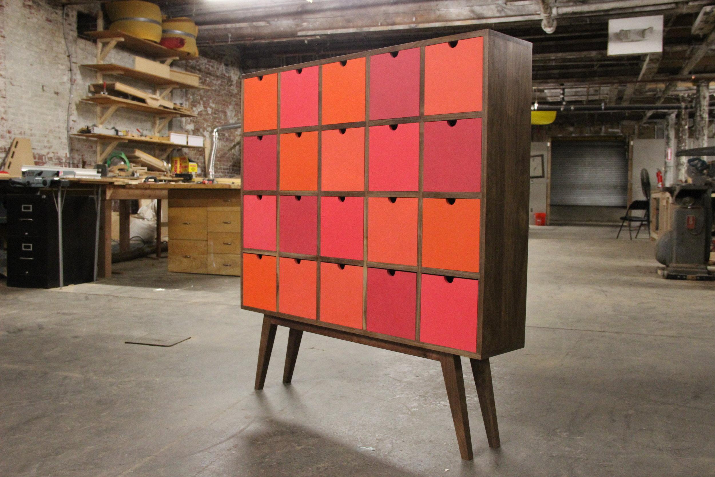 Custom Apothecary Cabinet