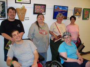 Artists at Artists Open Studio