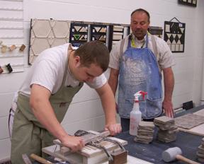 Ceramic Studio at Artists Open Studio