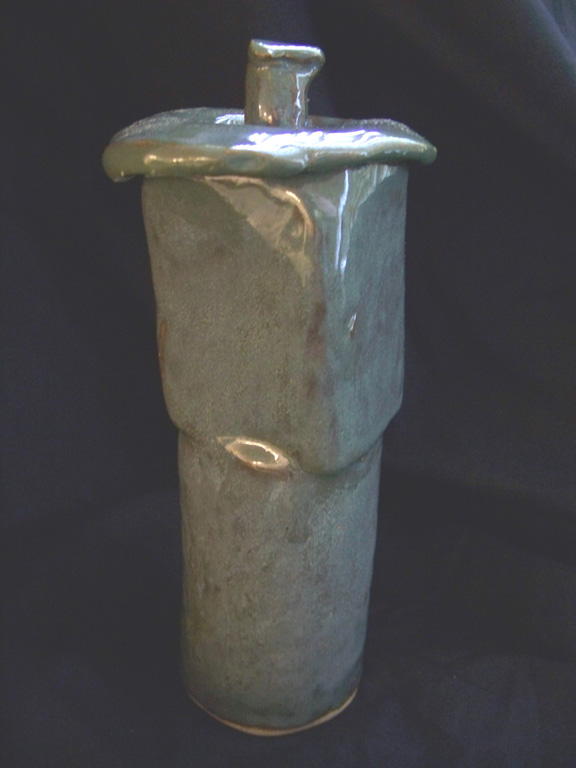 """""""Skinny Jar with Lid"""" by Richard Coombs"""