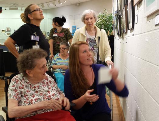 Artists from Gaymont Nursing Center