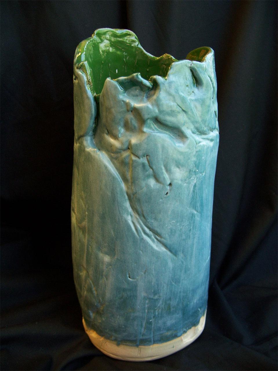 Blue & Green Vase