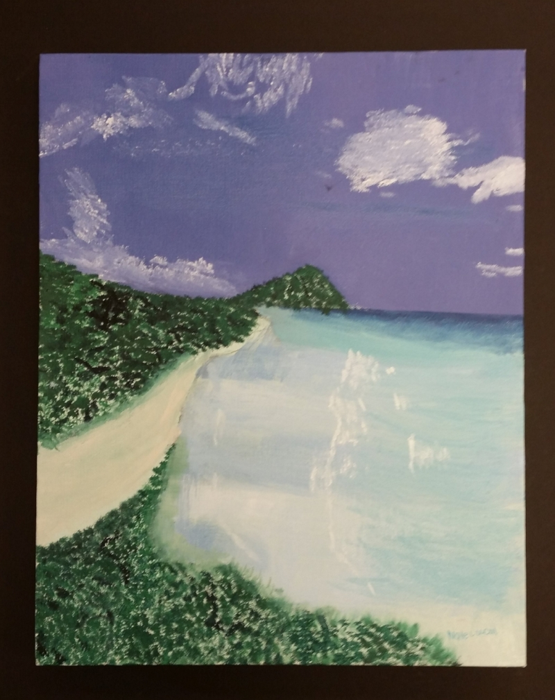 """Tropical Beach"" - available"