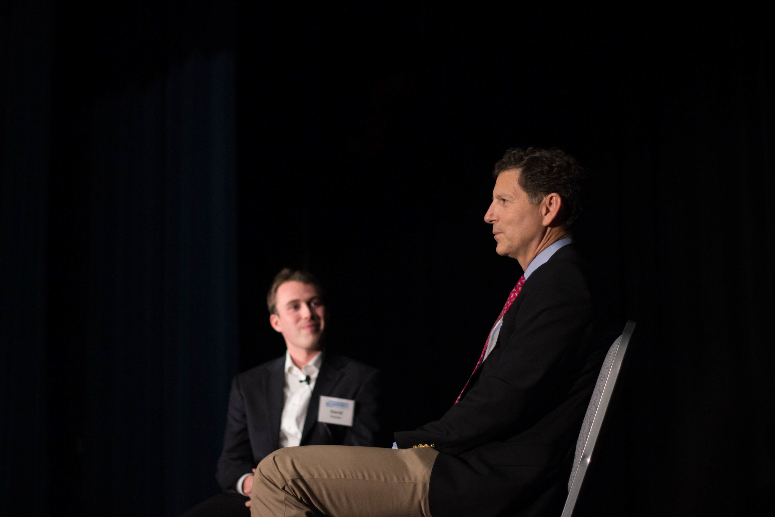 David Walden ('14, MAC '15) interviewing Tom Darden ('76) about ambition, calling and investment.