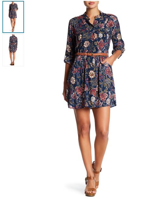 spring shirt dress