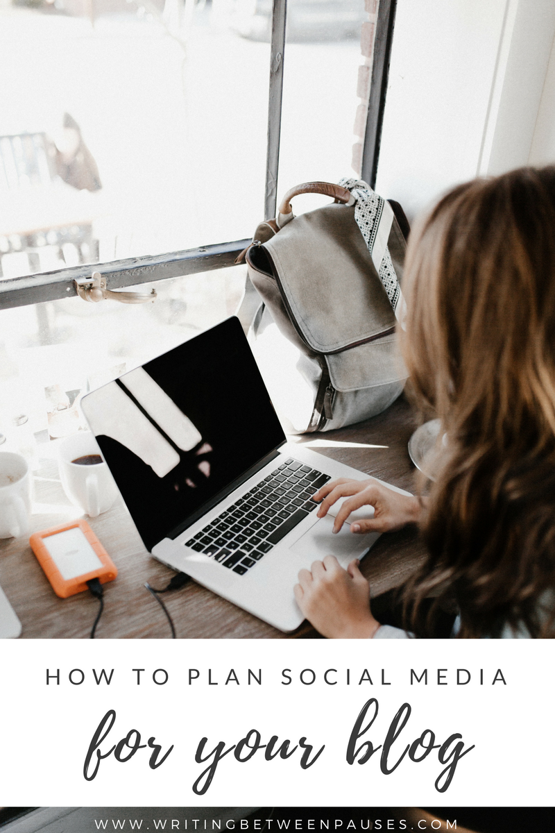 plan social media for blog