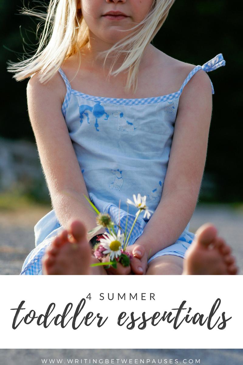 summer toddler essentials