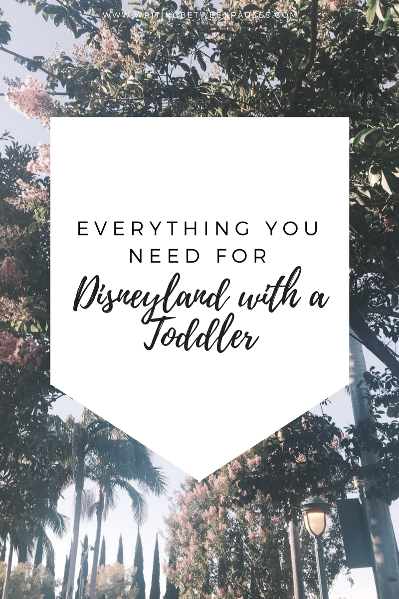 packing for disneyland with toddler