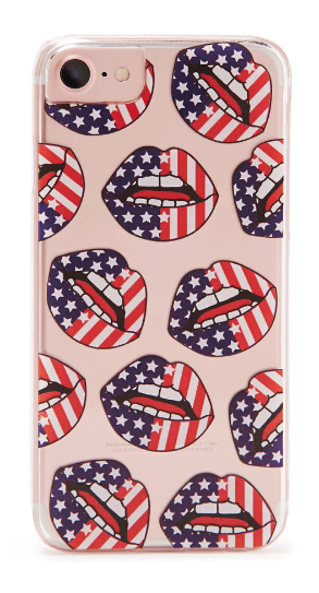 american flag print phone case