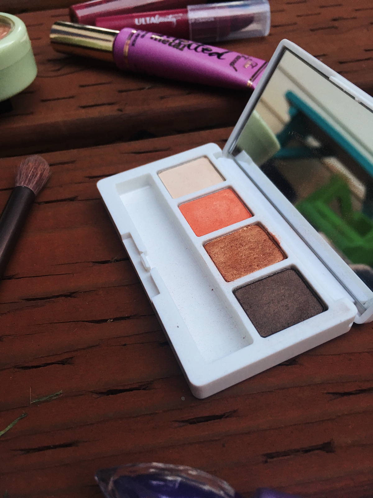 Autumn Eye Palette | Writing Between Pauses