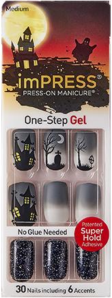 imPRESS Halloween Nails