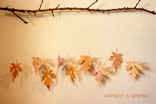 Fall Leaf Craft | Writing Between Pauses